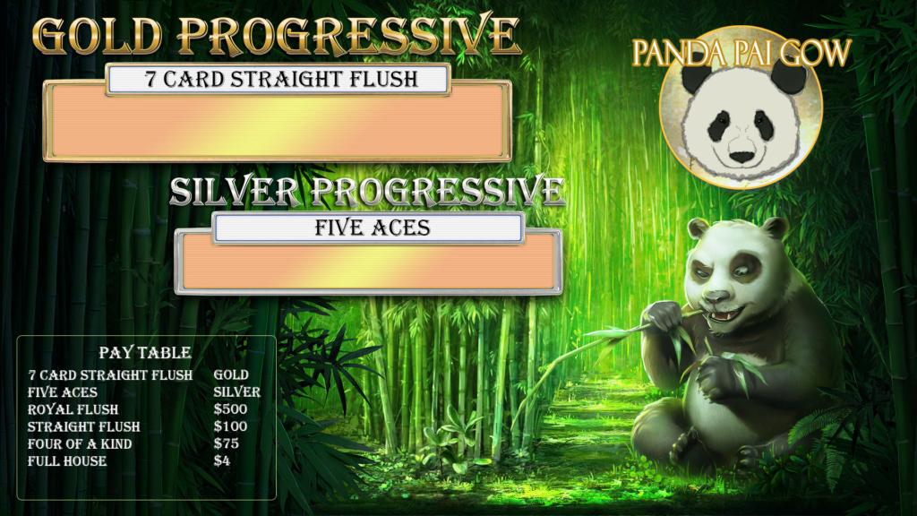 Panda Pai Gow Progressive
